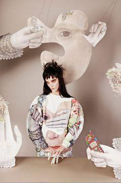 Masha Reva Odessa series | Photography: Madame Peripetie Styling: Stella Gosteva