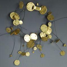 """Bracelet   Eric Majoral.  """"Pluja""""  Gold"""