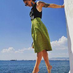 Take a break! With your Zebras n all!The green zebras midi skirt print skirt Pleated Skirt, Midi Skirt, High Waisted Skirt, Summer Fresh, Spring Summer, Green Zebra, Fantasy Island, Zebras, Zebra Print
