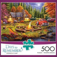 Hobby Hobbies DIY Forest Friendship 500pc Jigsaw Puzzle Abraham Hunter Sunsout