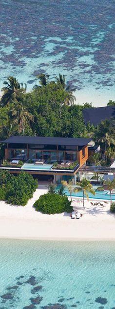 Coco Privé Kuda Hithi Island...Maldives (click through for photos of the interior.)