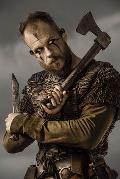 #GustafSkarsgård #Floki #Vikings #HistoryChannel Season Three Promo Pic