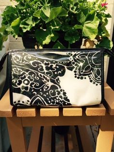 AUTHENTIC Kate Spade Paisley Grove Park Cosmetic Bag - $40