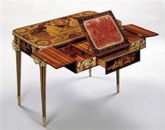 Réunion des Musées Nationaux-Grand Palais - Table des Muses Riesener Jean-Henri (1734-1806) Versailles, châteaux de Versailles et de Trianon