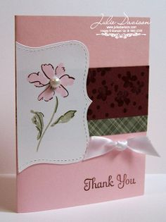 Julie's Stamping Spot -- Stampin' Up! Project Ideas by Julie Davison: So Long, Heartfelt Thanks