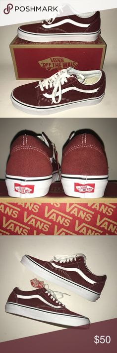 e1eeb915b9a5bd Vans low top Vans low top size 8.5 for men. This are new with tags