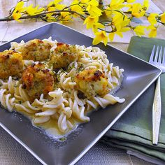 Breakfast Meatballs and Rotini