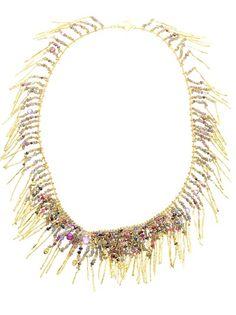 NATASHA COLLIS 18Ct Yellow Gold Treasure Necklace