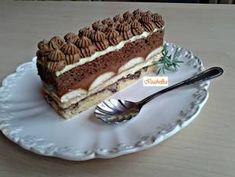 Csokoládés szelet recept lépés 14 foto Hungarian Desserts, Hungarian Recipes, Cake Recipes, Dessert Recipes, Plated Desserts, Cakes And More, Food Inspiration, Cupcake Cakes, Food Porn