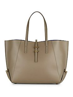 Zac Posen Eartha Leather Medium Brown Tote Bag. Get one of the hottest  styles of