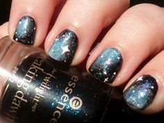 #nailart #nails #galaxy #galaxynails