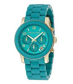 Michael Kors Turquoise Watch