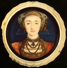 histoire-d-arts: HOLBEIN, Anne de Clèves, 1539