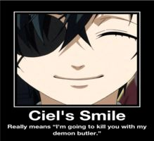 Lol HEY CIEL DO ME A FAVOR AND KILL THAT LIL BRAT,ALOIS TRANCY WILL YA? He got someserious issues -_-
