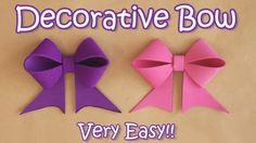 Decorative Bow - VERY EASY - Ana | DIY Crafts