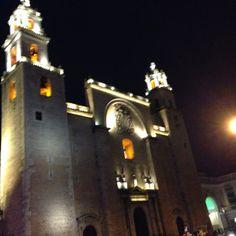 Catedral en Mérida