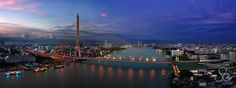 King Rama 8 Bridge - Bangkok - Thailand | Flickr - Photo Sharing!