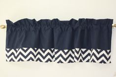 Solid+Blue+Custom+Chevron+Valance+Designer++by+customhomefashions