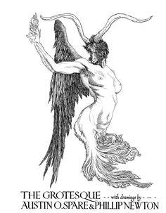 Austin Osman Spare's illustration for Form, A Quarterly of the Arts, Heidelberg University Library, 1916