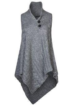 Sisley - Strikjakke /Cardigans - grå