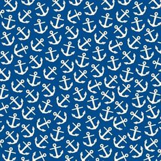 Anchors and Navy Blue Canvas Corp Scrapbooking Paper Navy And Ivory Anchor Detail Page