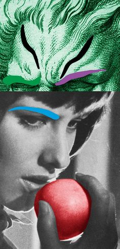 John Baldessari, could look at in Alice in Wonderland theme for photog...