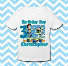 Birthday Boy Shirt Personalized Birthday Shirt by BabyBirthdayTee