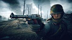 Battlefield 1 Soldier Gun Pistol Wallpaper