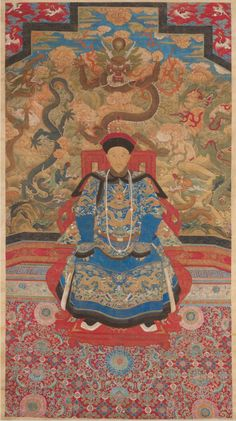 Imperial Portrait of a Prince | Qing dynasty (1644–1911) | c. 1775 | China | Ink, colors and gold on silk | 117 x 75 in.