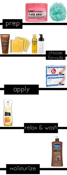 How to Apply Self Tanner