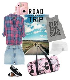 """Road Trip"" by ella178 ❤ liked on Polyvore featuring Rails, Karta L'Originale, River Island, Vans, Puma and Billabong"