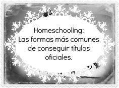 Educarpetas: Homeschooling: Cómo conseguir títulos en España