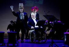 """Narodowy Tygrys, Król Strzałwgłówkę, Błazen - bohaterowie opery """"Złote runo"""" Opera, Concert, Poster, Opera House, Concerts"""
