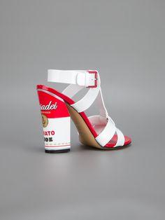 Casadei Soup Can Print Sandal - Russo Capri - SS2013