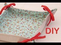 Clase de costura 8. Costura práctica: cómo hacer una panera de tela. | Manualidades