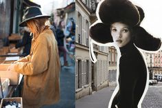Fall Hats Inspiration, because hat emphasizes a girl's personality and sight, the essence of being a woman, with all its mistery and fascination.