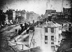 LA PREMIÈRE PHOTO DE PARIS ( 1839, Daguerre ) #FirstPhotoofParis #VonGiesbrechtJewels