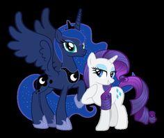 Luna and Rarity Rarity, Mlp, Princess Luna, Never Grow Up, My Little Pony Friendship, Rainbow Dash, Twilight, Sonic The Hedgehog, Anime