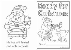 FREE Christmas emergent reader... follow Santa as he gets ready for Christmas this year!