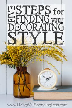 Beau Five Steps To Finding Your Decorating Style