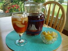 Great Sweet Tea Recipe.  Get some use out of the coffee pot we have because we don't drink coffee.