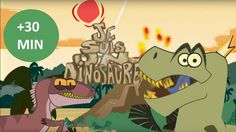 La vie des Dinosaures - Compilation #2 | 30min Film D, Preschool, Teaching, Education, Video Film, French, Pirate Bedroom, Page Boys, Projects