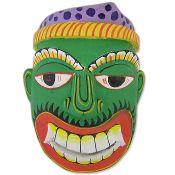 Green Demon Mask
