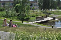 Thorbjörn Andersson with Sweco architects. Campus Park Umeå University, Umeå, Sweden.