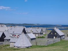 Fortress Louisbourg, NS, Canada I remember going here as a child with my Great Uncle Peter Gillis Canada Country, Acadie, East Coast Travel, Cape Breton, Rv Life, Canada Travel, Nova Scotia, Organizing Ideas, Homeland