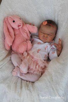 Reborn life like baby doll www.newbornlovenursery.blogapot.com Sarah Daugherty