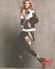 H & M Fall 2011 - oliphant backdrop
