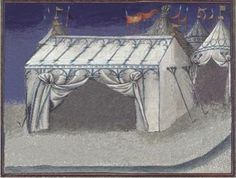 unknown source. Must track this down as it is one of the only straight sided pavilions I've seen.