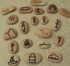 Image of Silhouette Story Stones