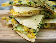 3 Great Vegetarian lunch box ideas- veggie quesadillas #backtoschool - Jake really likes the veggie quesadillas!